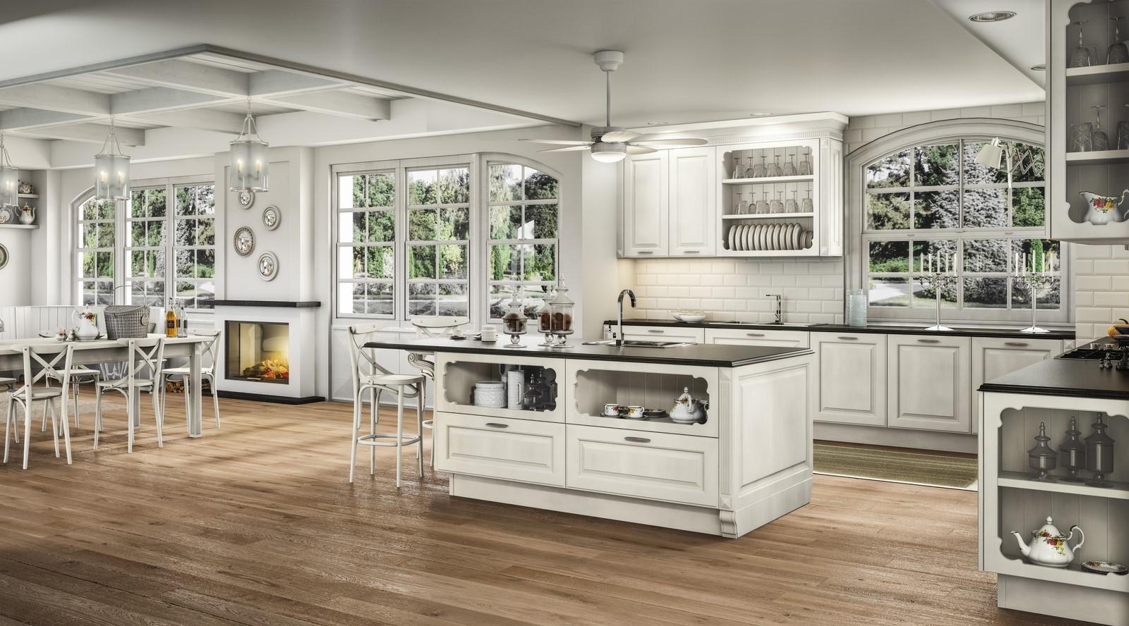 Cucine classiche ad
